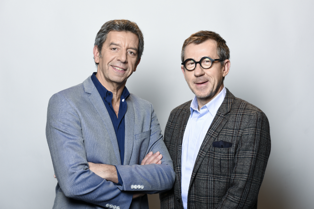 Michel Cymes et Jamy Gourmaud